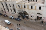 Benghazi rebel headquaters