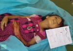 Girl allegedly killed by militia shelling in Bani Walid - photo courtesy of RT