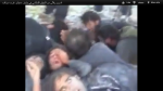 Prisoners of the FSA, moments before they are beaten and then massacred in cold blood.