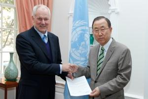 Secretary General receives report