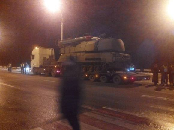 The original of the picture which the SBU wrongly claimed is a Russian buk